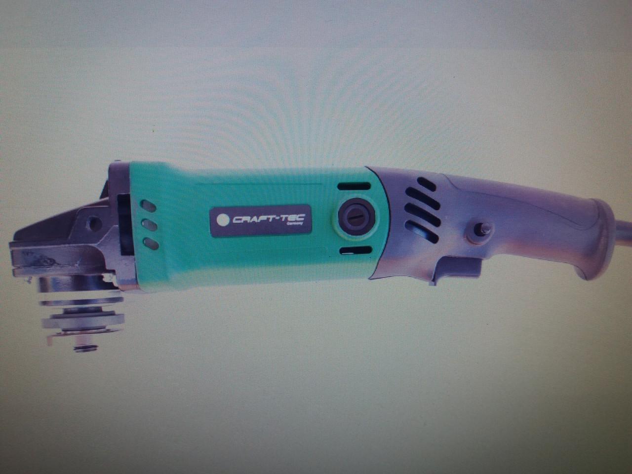 Угловая шлифмашина Craft-tec PXAG-403 125 мм(дл.ручка)®