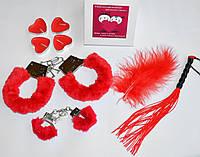 Эротический набор для взрослых игр с наручниками 5 в 1, фото 1