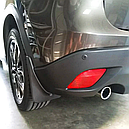 Брызговики MGC Mazda CX-5 (Мазда) 2012-2017 г.в. комплект 4 шт KD45V3460, KD45V3450, фото 9