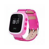 Детские умные часы Smart Baby Watch Q60 GPS Розовые (MA-15)
