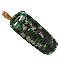 Колонка Bluetooth Hoco BS38 Camouflage green