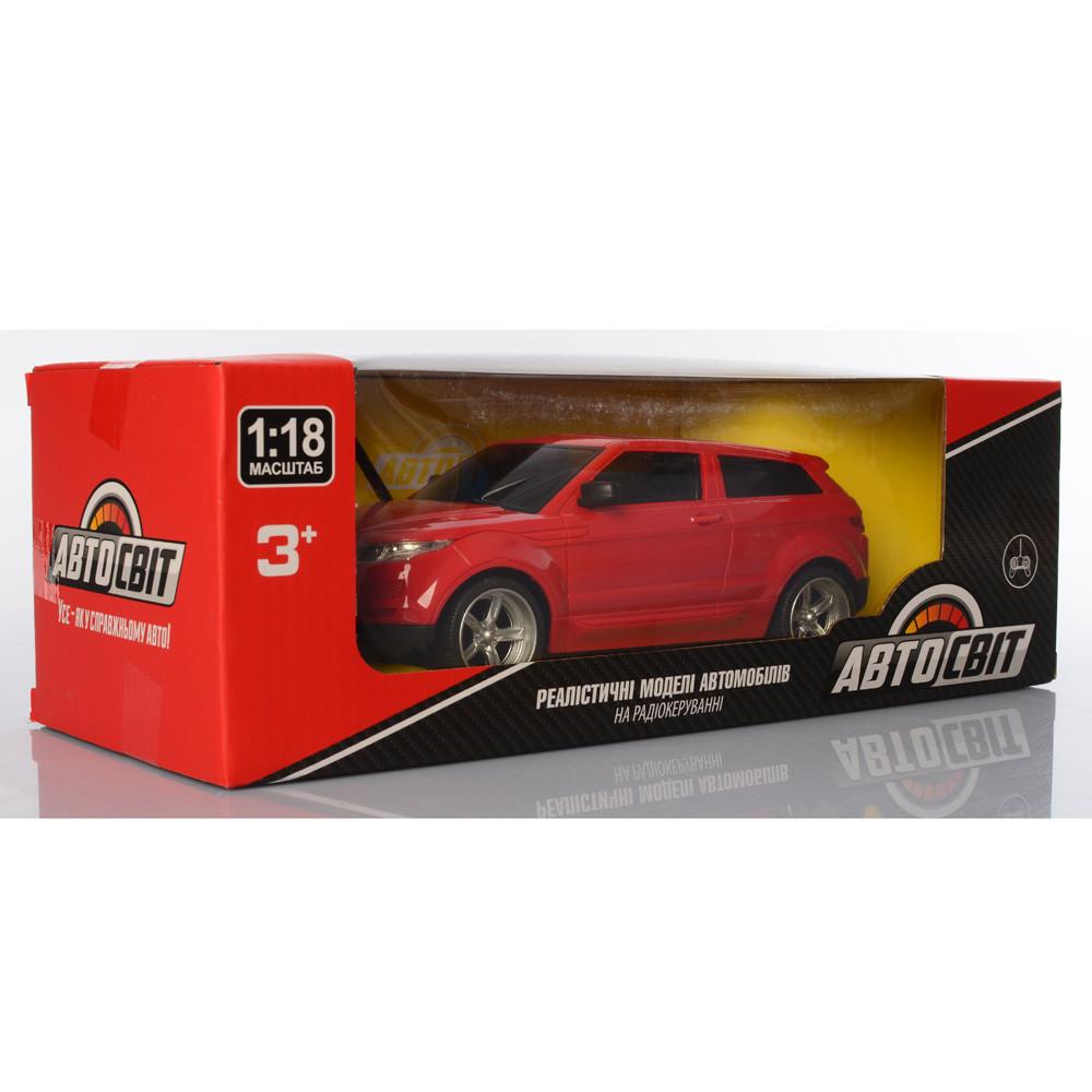 Машина AS-2207 АвтоСвіт, радіокер., акум., 1:18, гум.колеса, 2кольори, світло, кор., 32-10,5-12,5см.
