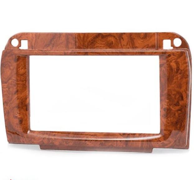 Рамка переходная CARAV 11-409 Mercedes-Benz SL (R230) 2001+ wooden 2-DIN (Р19389)