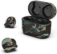 Беспроводные Bluetooth наушники Sabbat X12 Ultra Amazon (Черно-зеленый)