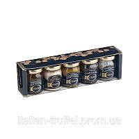 Трюфельний Подарунковий набір - Лоток 5 продукту (Giuliano Tartufi) Італія.