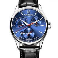 Оригинальные мужские механические наручные часы с автоподзаводом, 25 камней, Япония