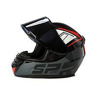 Мотошлем/ Шлем для мотоцикла/ мопеда/ скутера/ шлем закрытый/ шлем интеграл/ Мото шолом/ шлем для квадроцикла/