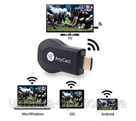 Медиаплеер, TV приставка для интернета, ресивер AnyCast M9 Plus