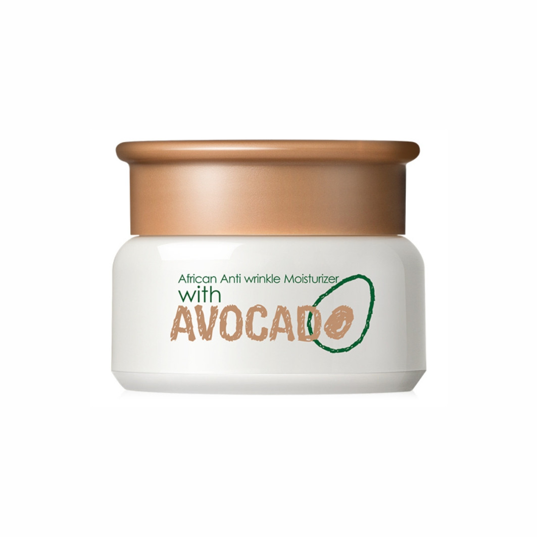 Увлажняющий крем для лица с экстрактом авокадо Laikou African Anti Wrinkle Moisturizer