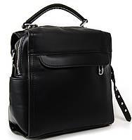 Женская сумка-рюкзак 53363 black  Купить клатчи женские оптом недорого в Украине, фото 1
