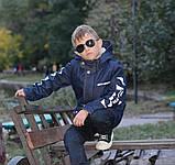 Детская джинсовая парка теплая, фото 3