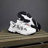 Мужские кроссовки в стиле Adidas Ozweego TR белые с чёрным, фото 9