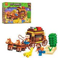 """Конструктор """"My World Minecraft: Путешествие по Египту"""", 199 дет, BELA, майнкрафт,minecraft,лего"""
