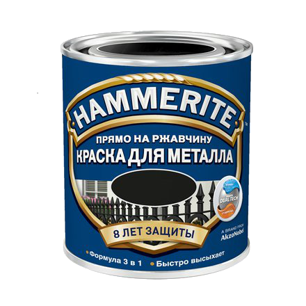 Hammerite з Глянцевим ефектом, Зелена 2.5 л