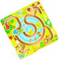 """Лабиринт """"Голубое озеро"""", Lucy&Leo, деревянные игрушки,деревянные игрушки развивающие,сотер,игрушки для"""