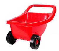 Тачка детская красный, Технок, песочные наборы,наборы в песочницу,игрушки в песочницу