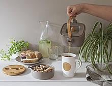 Чайник-заварник из керамики емкостью HUSLA Hygge 1000 мл. (73973)
