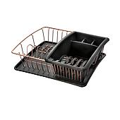 Сушилка для посуды и столовых приборов Metaltex Copper (325826)