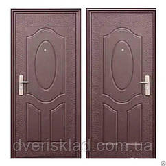 Дверь входная  Эконом 860 на 2050 правая