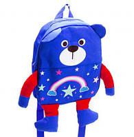 """Рюкзак детский """"Мишка"""" (синий), рюкзак,сумки,городской рюкзак,рюкзаки школьные,рюкзаки женские"""