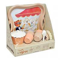 """Набор посуды """"Модное чаепитие"""", 16 эл, TIGRES, игрушки для девочек,дитяча кухня,Игрушечный набор посуды"""