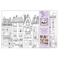 """Веселый коврик """"Здание"""", товары для творчества,раскраски,dankotoys,игрушки товары для детей"""