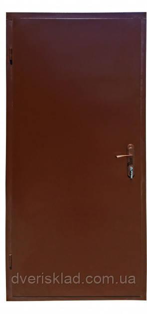 Вхідні двері технічні метал / метал 860, праві