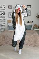 Пижама Кигуруми для взрослых Хаски Маламут S, M, L, XL