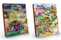 """Игровой набор """"Dino Land"""" рус, Dankotoys, развлекательные игры,детская настольная игра,настольные игры для"""
