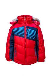 Куртка зимова для хлопчика СлаломРазные кольору