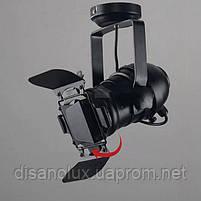 Світильник LOFT 75220 BK (потолок) E27 290X160X130 прожектор потолочний, фото 4