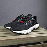Жіночі кросівки в стилі Adidas Ozweego TR чорні на білому, фото 4
