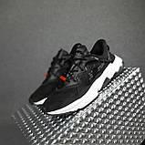 Жіночі кросівки в стилі Adidas Ozweego TR чорні на білому, фото 10