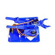 Роботизированная рука комплект для сборки (синий акрил), фото 3