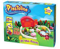 Plastelino Набір для ліплення Весела ферма