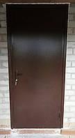 Двери входные стандарт высота 1900 на 850 мм. Утепленные с отделкой.