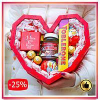 Сладкий подарок для девушки, жены, женщины, любимой на День Святого Валентина