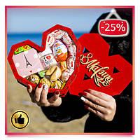 Сладкий подарок для девушки, жены, женщины, любимой, мамы, подруги на День Святого Валентина