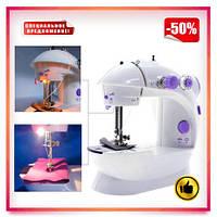 Швейная машинка Mini Sewing Machine. Портативная мини швейная машинка 4 в 1