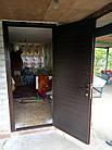 Двері вхідні стандарт висота 1900 мм. Утеплені з обробкою. 850 ліві, фото 8