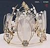 Корона на голову круглая, корона для волос, фото 3