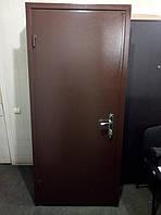 Двери входные стандарт 1,8 мм 1 замок, двойная коробка. Бесплатная доставка новой почтой.