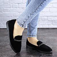 Женские туфли Fashion Booker 1918 36 размер 23,5 см Черный