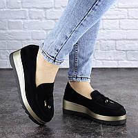 Женские туфли Fashion Boot 1923 36 размер 23,5 см Черный