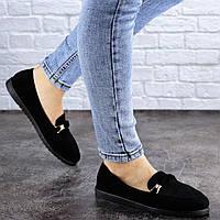 Женские туфли Fashion Devin 1960 38 размер 24 см Черный