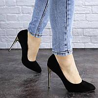Женские туфли на каблуке Fashion Addi 1919 37 размер 24 см Черный