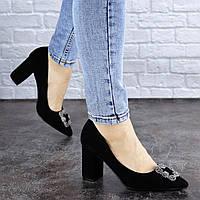 Женские туфли на каблуке Fashion Angie 1921 36 размер 23,5 см Черный