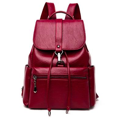 Рюкзак женский кожаный Kety Бордовый