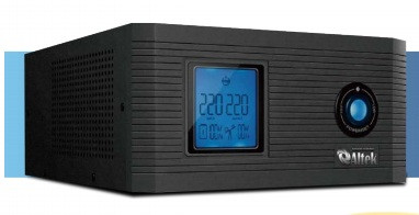 Инвертор (преобразователь напряжения) с зарядным устройством  AXL-400 300W 12A