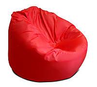 Красное большое кресло мешок из ткани Оксфорд